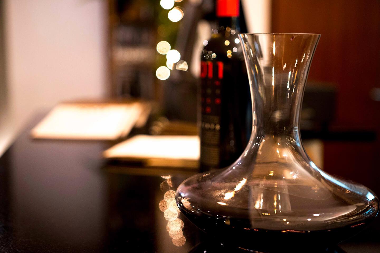 Naco Churrascaria Moderna mesa de vinhos